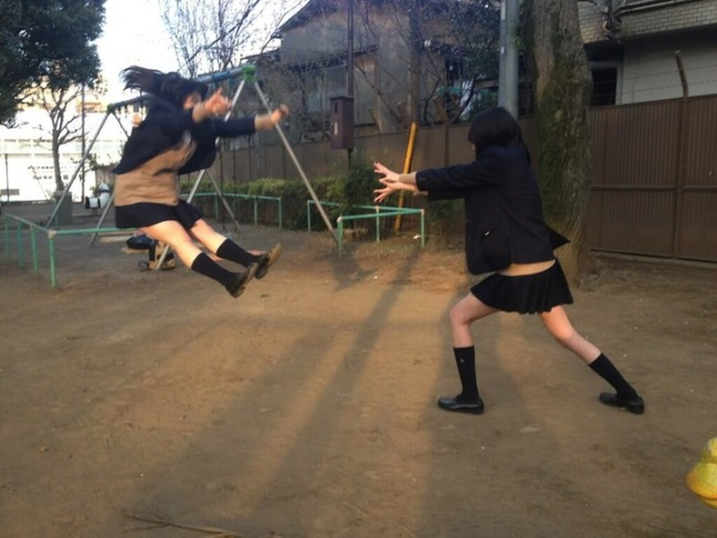 Japanese schoolgirls mastered super supernatural forces 5