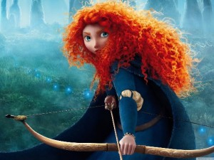 "A shot from a cartoon ""Brave""."