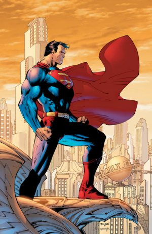 Promotional art for Superman vol. 2, #204 (April 2004) by Jim Lee and Scott Williams © Wikimedia Commons
